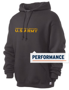 Camp Hienry-Taegu Russell Men's Dri-Power Hooded Sweatshirt