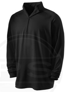 Camp Hialeah-Pusan Embroidered Men's Stretched Half Zip Pullover