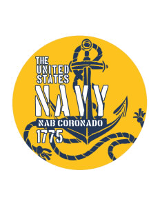 Coronado Naval Amphibious Base Sticker
