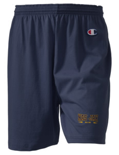 "Jacksonville Naval Air Station  Champion Women's Gym Shorts, 6"" Inseam"