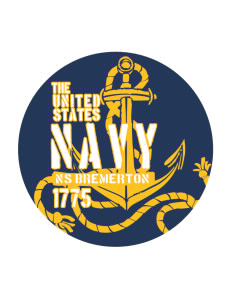 Bremerton Naval Station Sticker