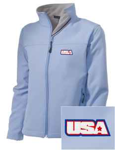 Cape Cod CG Air Station Embroidered Women's Soft Shell Jacket