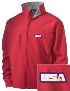 Yorktown CG Reserve Training Center Embroidered Men's Soft Shell Jacket