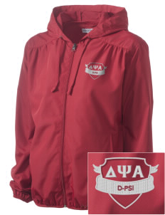 Delta Psi Alpha Embroidered Women's Hooded Essential Jacket