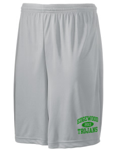 "Edgewood High School Trojans Men's Competitor Short, 9"" Inseam"