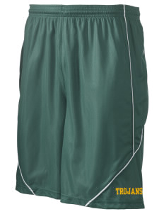 "Edgewood High School Trojans Men's Pocicharge Mesh Reversible Short, 9"" Inseam"