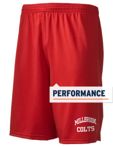 "Millbrook Elementary School Colts Holloway Men's Performance Shorts, 9"" Inseam"