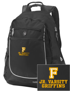 Fairfield Middle School Griffins Embroidered OGIO Carbon Backpack