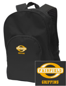 Fairfield Middle School Griffins Embroidered Value Backpack