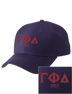 Gamma Phi Delta  Embroidered New Era Adjustable Structured Cap