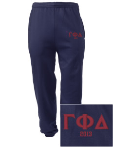 Gamma Phi Delta Embroidered Men's Sweatpants with Pockets