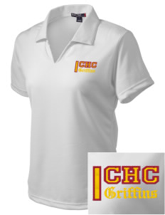 Chestnut Hill College Griffins Embroidered Women's Dri Mesh Polo