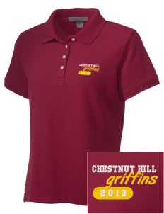 Chestnut Hill College Griffins Embroidered Women's Performance Plus Pique Polo