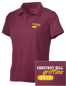 Chestnut Hill College Griffins Embroidered Women's Double Mesh Polo
