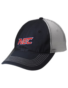 New England College Pilgrims Embroidered Mesh Back Cap