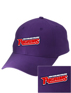 New England College Pilgrims Embroidered Low-Profile Cap