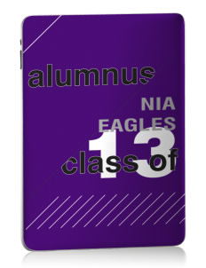 NIA Community Public Charter School Eagles Apple iPad Skin