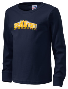 USS San Antonio  Kid's Long Sleeve T-Shirt