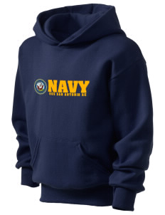 USS San Antonio Kid's Hooded Sweatshirt