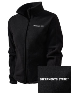 California State University Sacramento Hornets Embroidered Women's Fleece Full-Zip Jacket