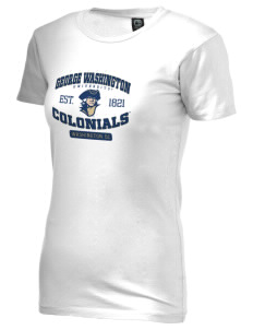 George Washington University Colonials Alternative Women's Basic Crew T-Shirt