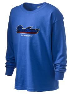 Georgia State University Panthers Kid's 6.1 oz Long Sleeve Ultra Cotton T-Shirt