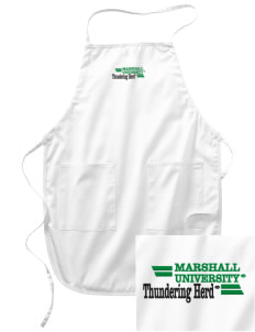 Marshall University Thundering Herd Embroidered Full Length Apron