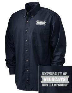 University of New Hampshire Wildcats Embroidered Tall Men's Twill Shirt