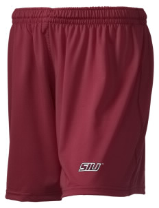 "Southern Illinois University Salukis Embroidered Holloway Women's Performance Shorts, 5"" Inseam"
