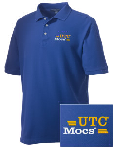 University of Tennessee at Chattanooga Mocs Embroidered Men's Performance Plus Pique Polo
