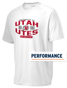 University of Utah Utes Men's Ultimate Performance T-Shirt