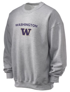 University of Washington Huskies Ultra Blend 50/50 Crewneck Sweatshirt