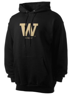 University of Washington Huskies Men's 7.8 oz Lightweight Hooded Sweatshirt