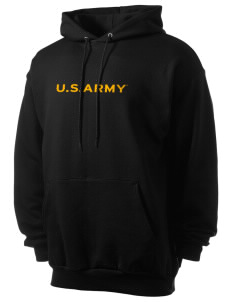 U.S. Army Men's 7.8 oz Lightweight Hooded Sweatshirt