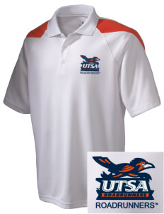 University of Texas at San Antonio Roadrunners Embroidered Holloway Men's Frequency Performance Pique Polo