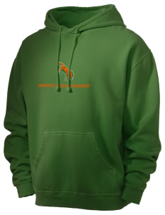 University of Texas-Pan American Broncs Men's 80/20 Pigment Dyed Hooded Sweatshirt