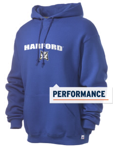 Harford Community College Fighting Owls Russell Men's Dri-Power Hooded Sweatshirt