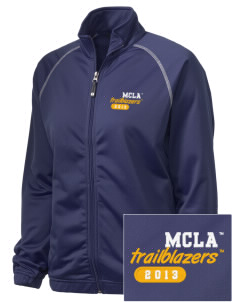 Massachusetts College of Liberal Arts Trailblazers Embroidered Holloway Women's Attitude Warmup Jacket