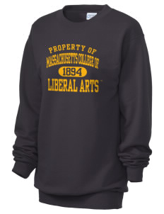 Massachusetts College of Liberal Arts Trailblazers Unisex 7.8 oz Lightweight Crewneck Sweatshirt