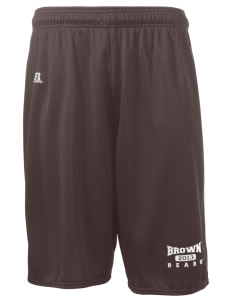"Brown University Bears  Russell Deluxe Mesh Shorts, 10"" Inseam"