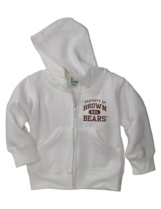 Brown University Bears Baby Full Zip Hoodie