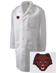 Brown University Bears Full-Length Lab Coat