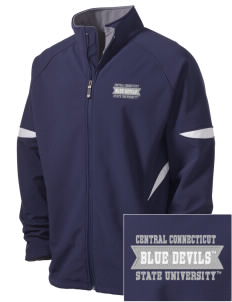 Central Connecticut State University Blue Devils Holloway Embroidered Men's Radius Zip Front Jacket