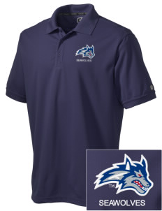 Stony Brook University Seawolves Embroidered OGIO Men's Caliber Polo