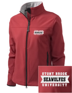 Stony Brook University Seawolves Embroidered Women's Glacier Soft Shell Jacket
