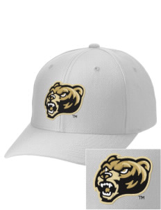 Oakland University Golden Grizzlies Embroidered Wool Adjustable Cap