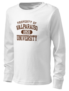 Valparaiso University Crusaders  Kid's Long Sleeve T-Shirt