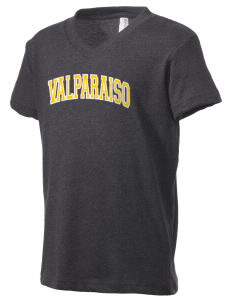 Valparaiso University Crusaders Kid's V-Neck Jersey T-Shirt