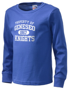 SUNY Geneseo Knights  Kid's Long Sleeve T-Shirt