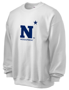 United States Naval Academy Midshipmen Ultra Blend 50/50 Crewneck Sweatshirt